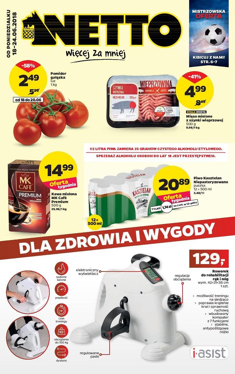 Gazetka promocyjna Netto do 24/06/2018 str.1