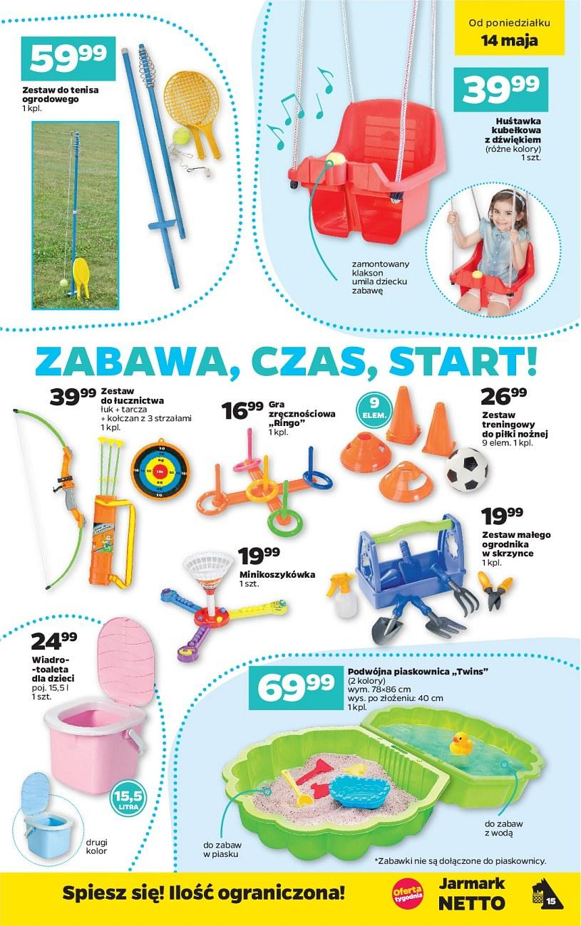 Gazetka promocyjna Netto do 19/05/2018 str.15