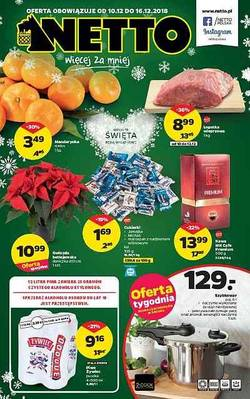Netto gazetka - od 10/12/2018 do 15/12/2018