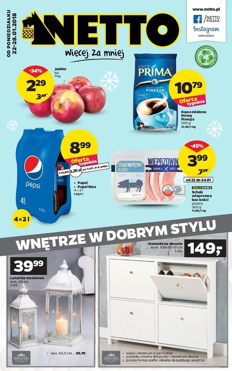 Gazetka promocyjna Netto do 28/01/2018 str.0