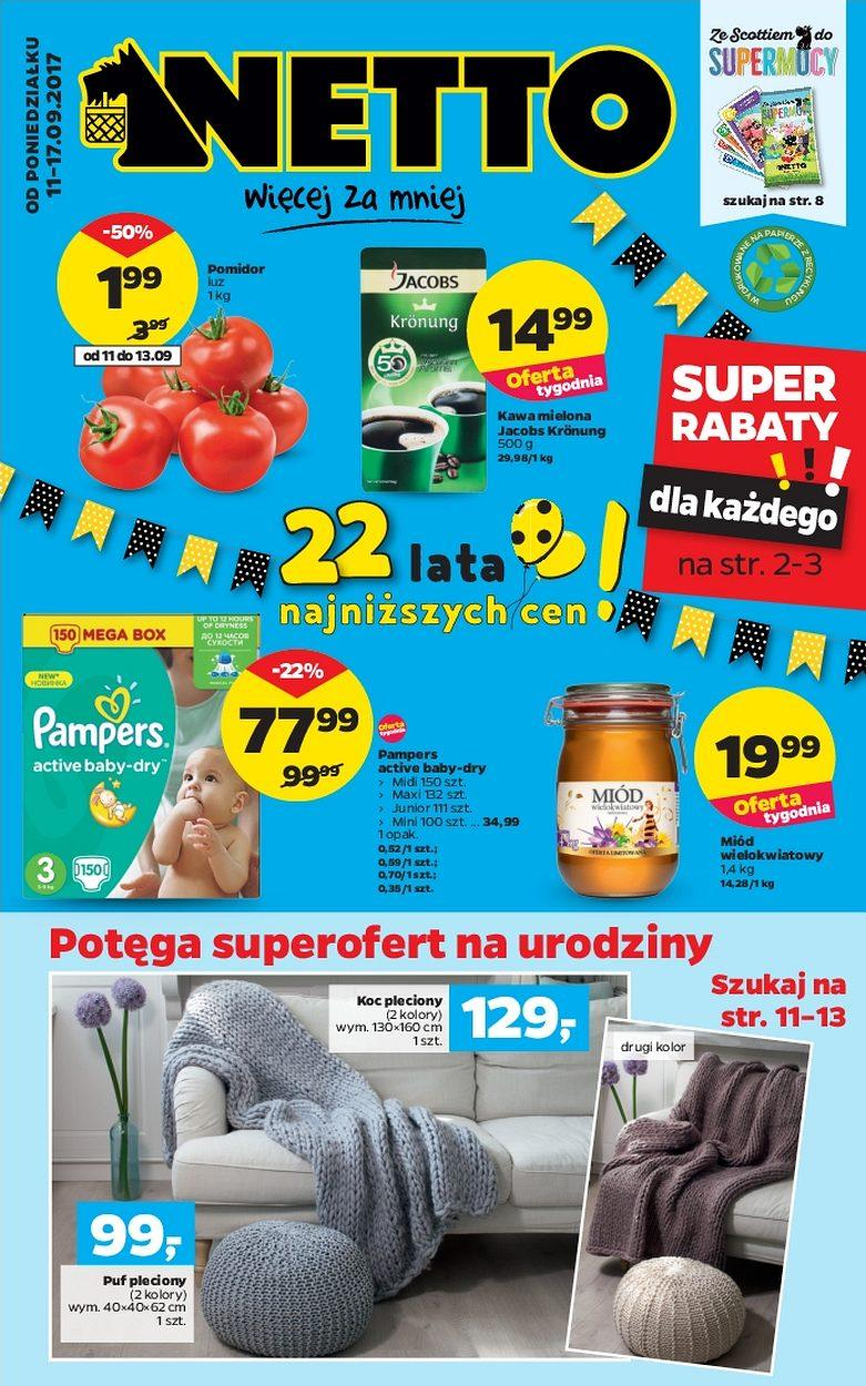 Gazetka promocyjna Netto do 17/09/2017 str.0