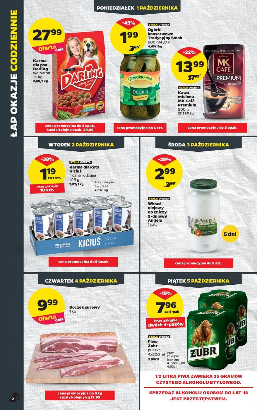 Gazetka promocyjna Netto do 07/10/2018 str.1