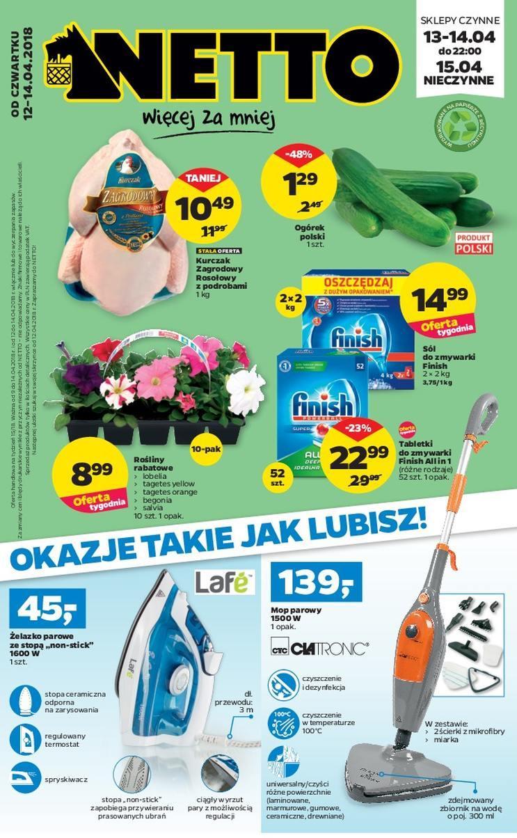 Gazetka promocyjna Netto do 14/04/2018 str.0