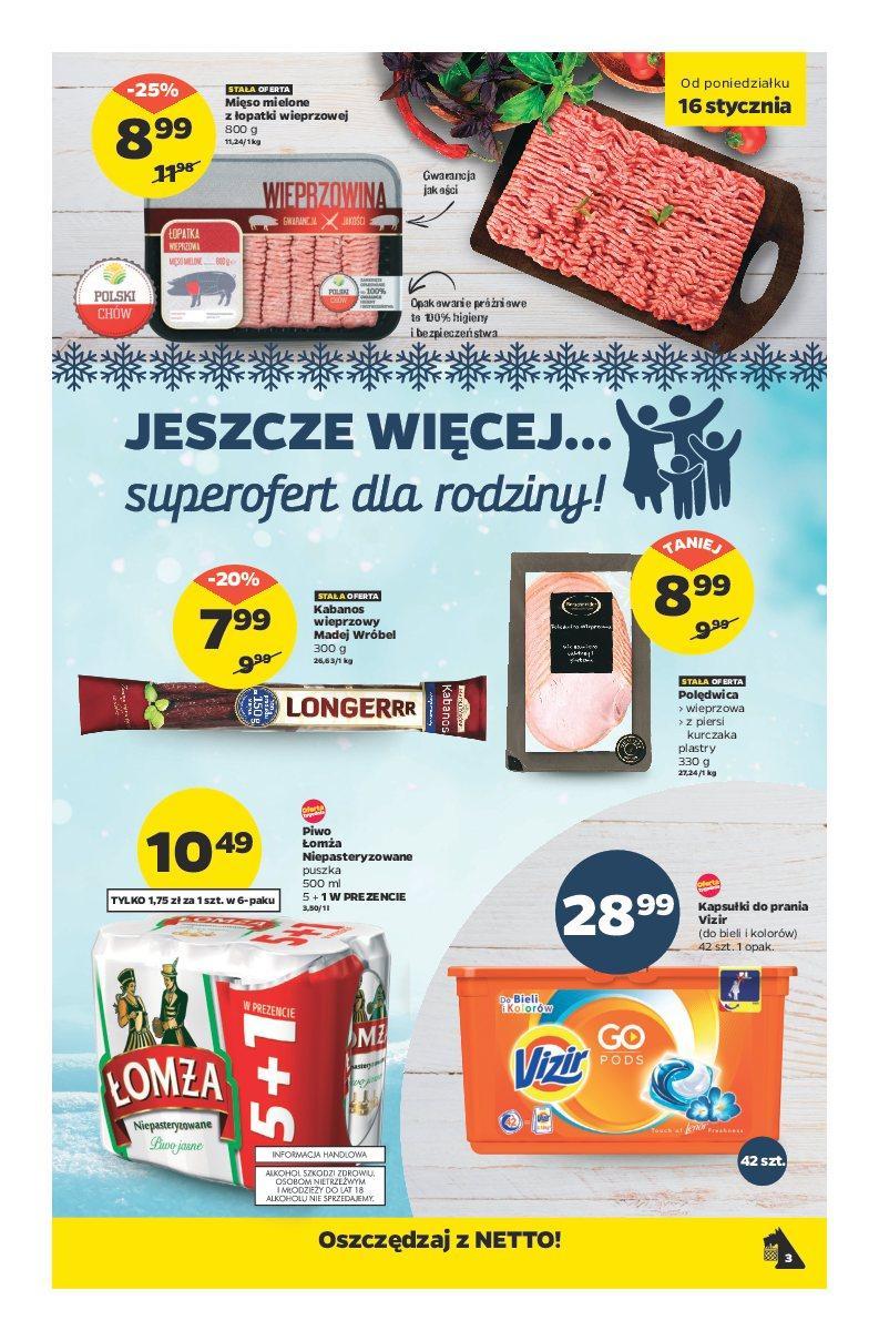 Gazetka promocyjna Netto do 22/01/2017 str.2