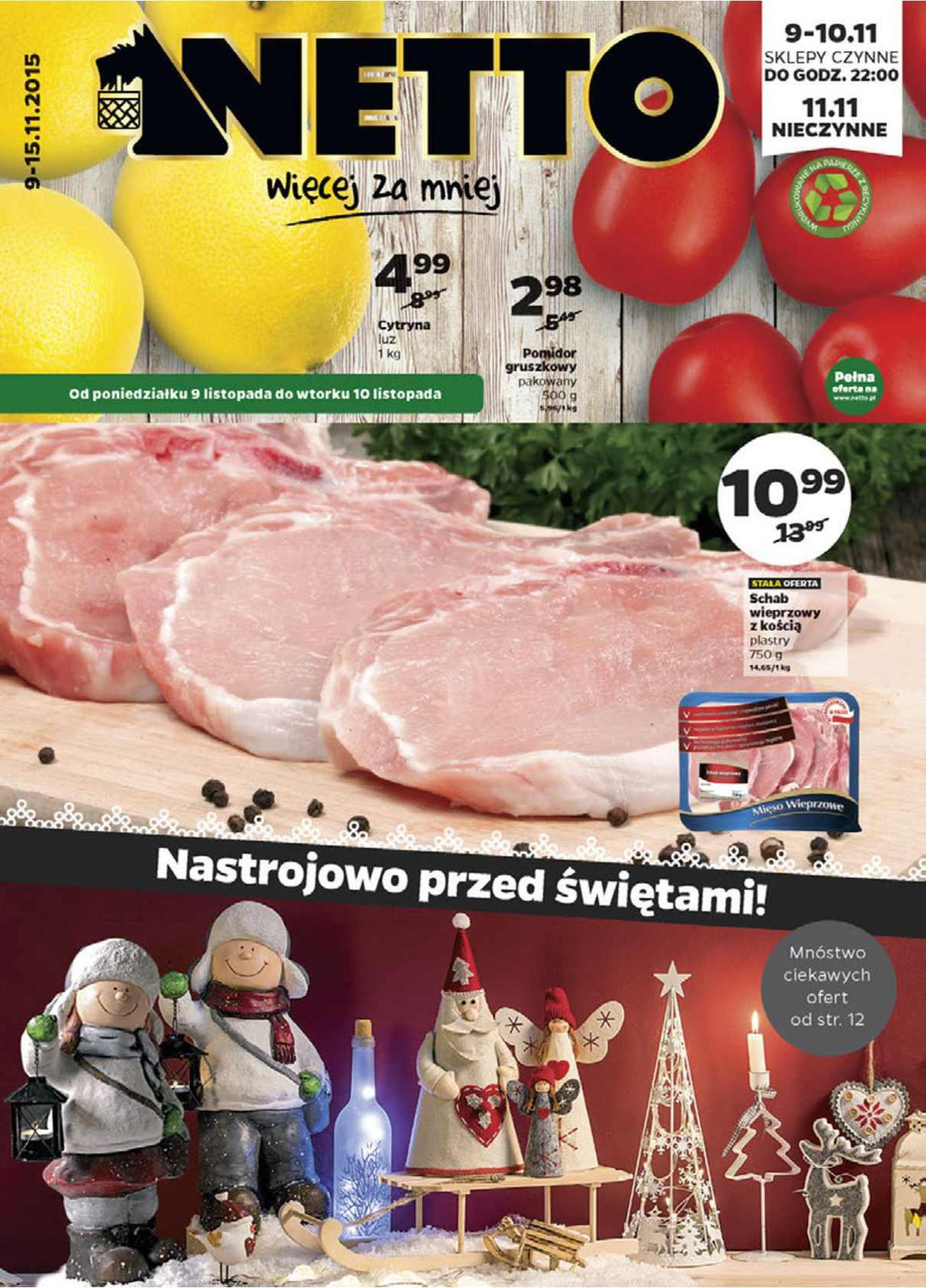 Gazetka promocyjna Netto do 15/11/2015 str.0