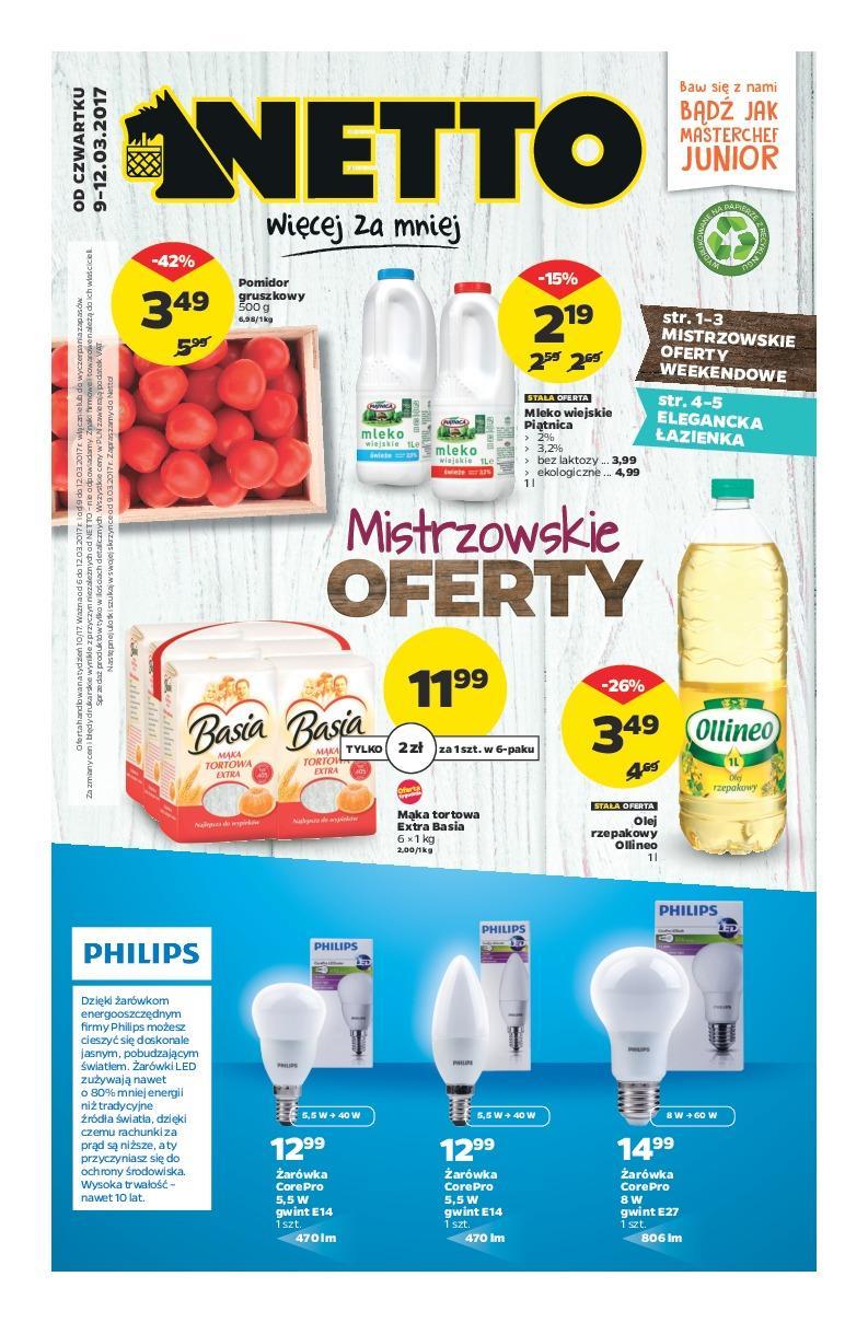 Gazetka promocyjna Netto do 12/03/2017 str.0