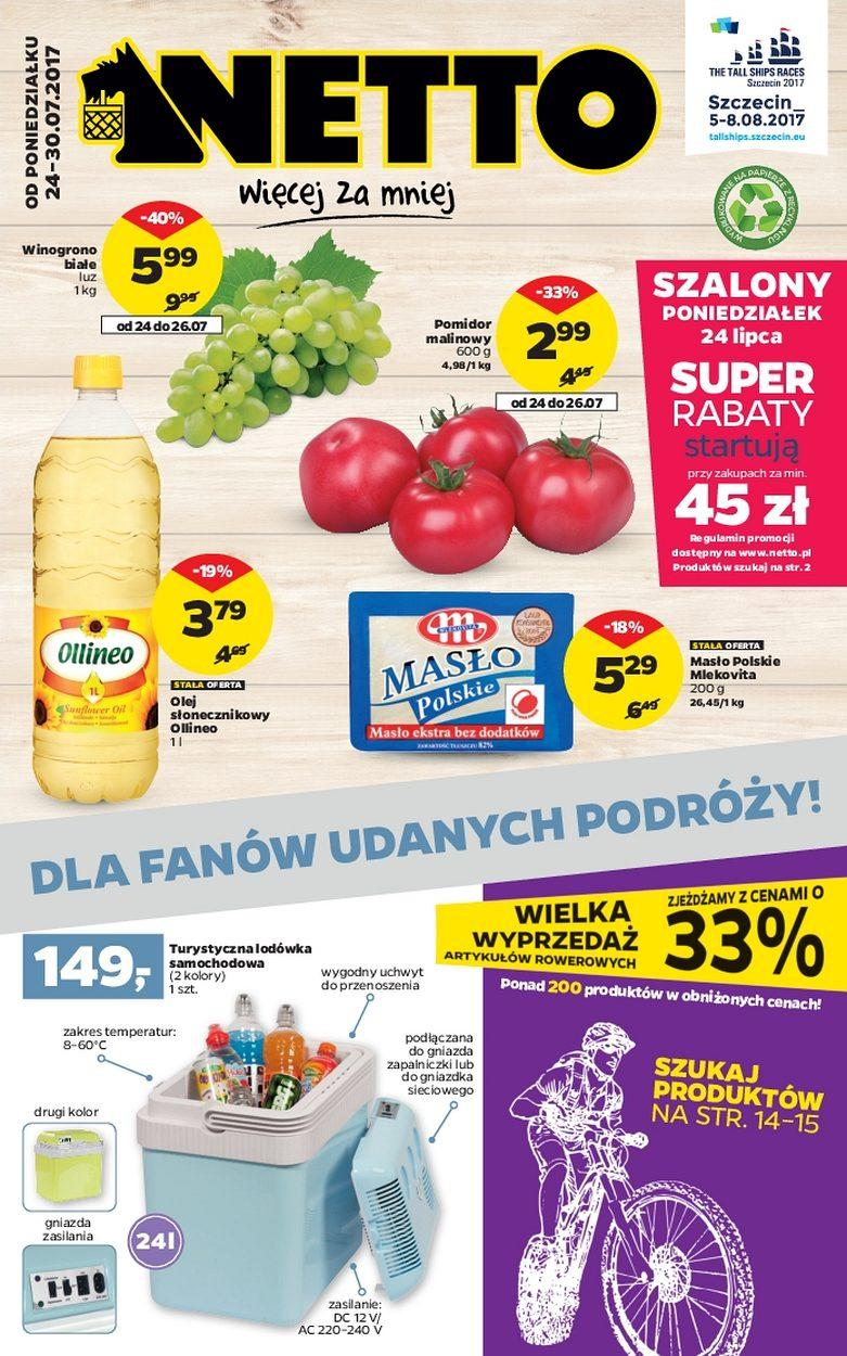 Gazetka promocyjna Netto do 30/07/2017 str.0