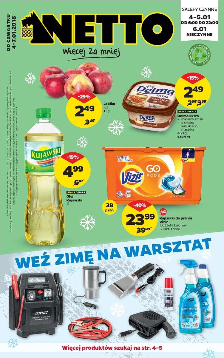 Gazetka promocyjna Netto do 07/01/2018 str.0