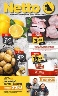 Netto gazetka - od 25/03/2019 do 31/03/2019