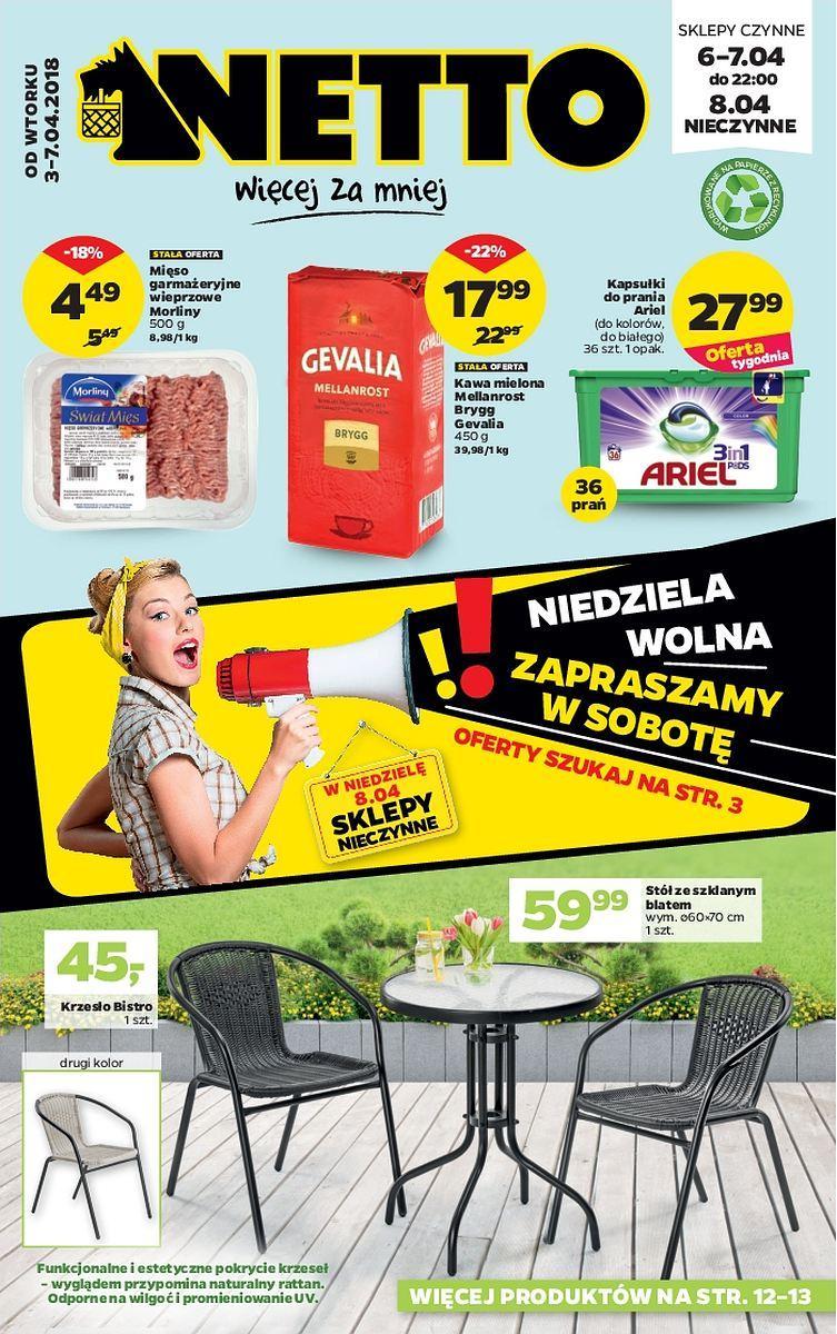 Gazetka promocyjna Netto do 07/04/2018 str.0
