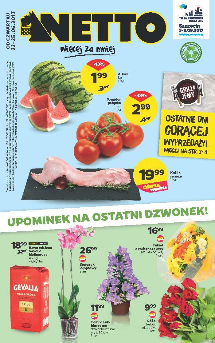 Gazetka promocyjna Netto do 25/06/2017 str.0