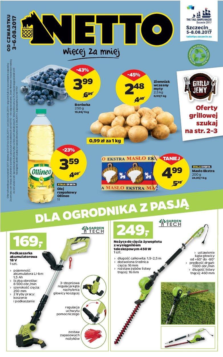 Gazetka promocyjna Netto do 06/08/2017 str.0