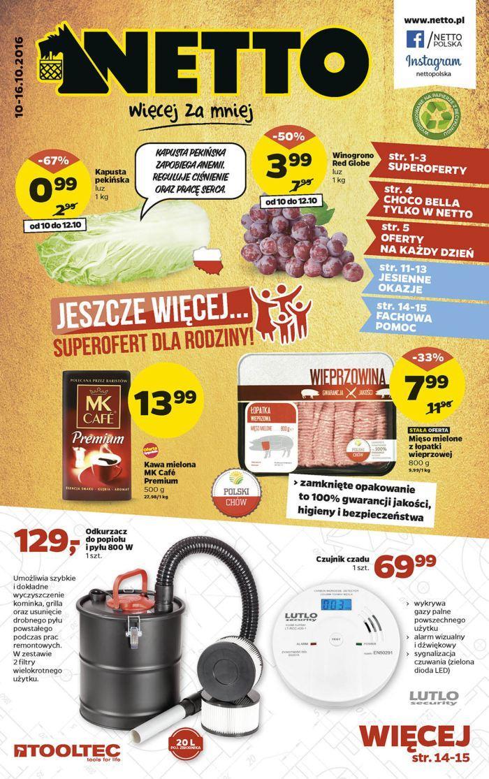 Gazetka promocyjna Netto do 16/10/2016 str.0