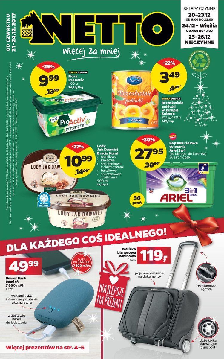 Gazetka promocyjna Netto do 24/12/2017 str.0