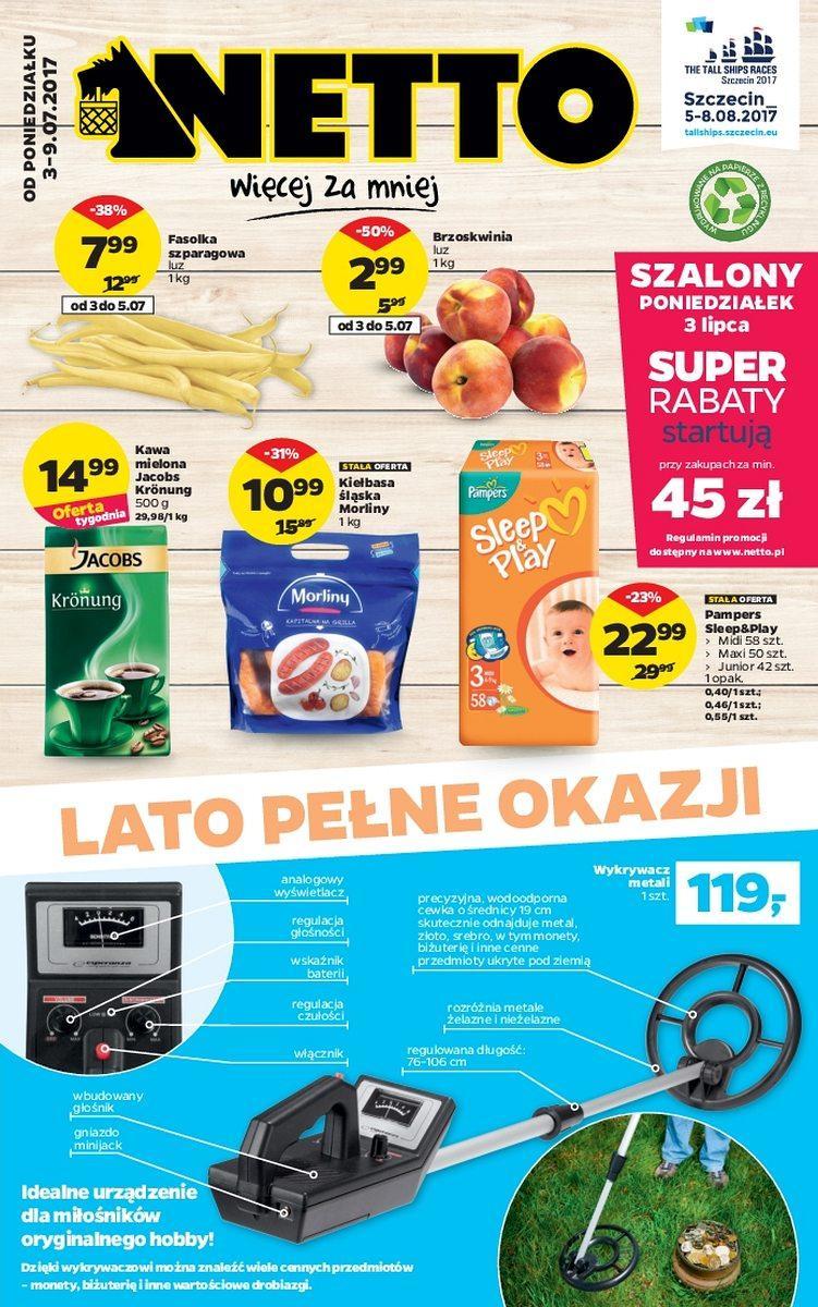 Gazetka promocyjna Netto do 09/07/2017 str.0