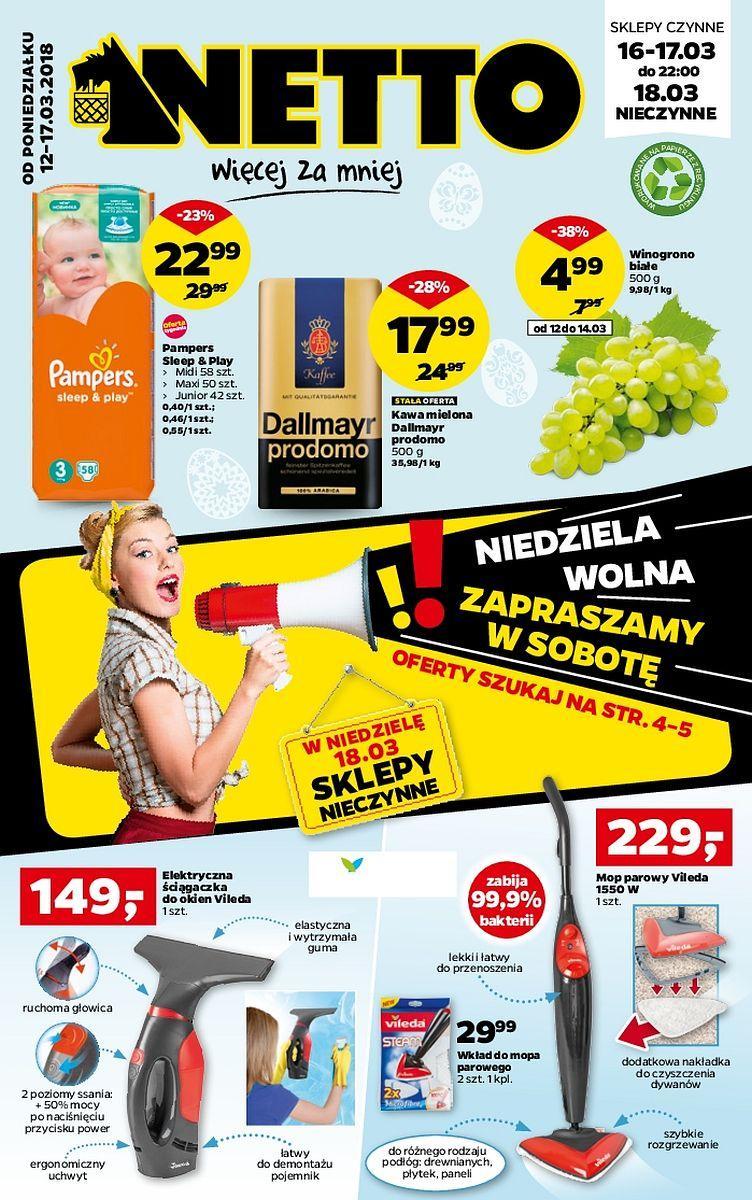 Gazetka promocyjna Netto do 17/03/2018 str.0
