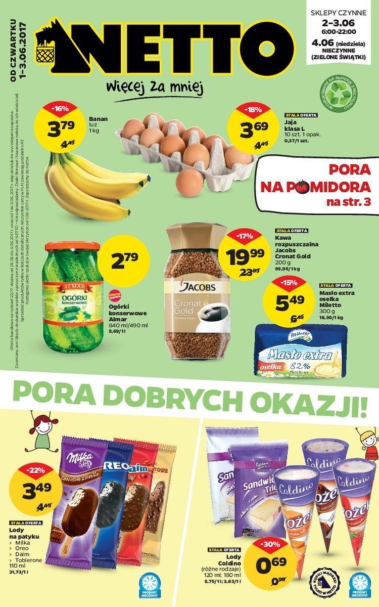 Gazetka promocyjna Netto do 04/06/2017 str.0