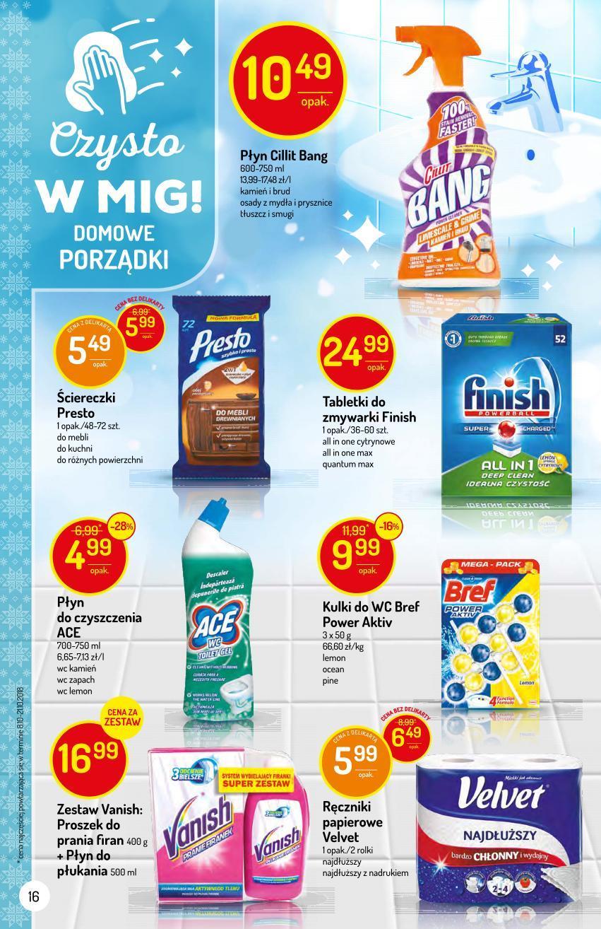 Gazetka promocyjna Delikatesy Centrum do 29/11/2018 str.16