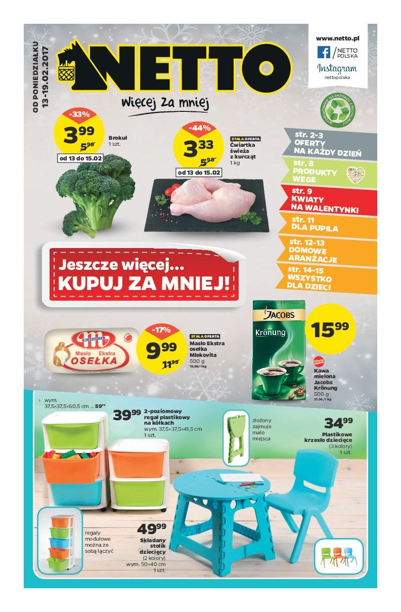 Gazetka promocyjna Netto do 19/02/2017 str.0