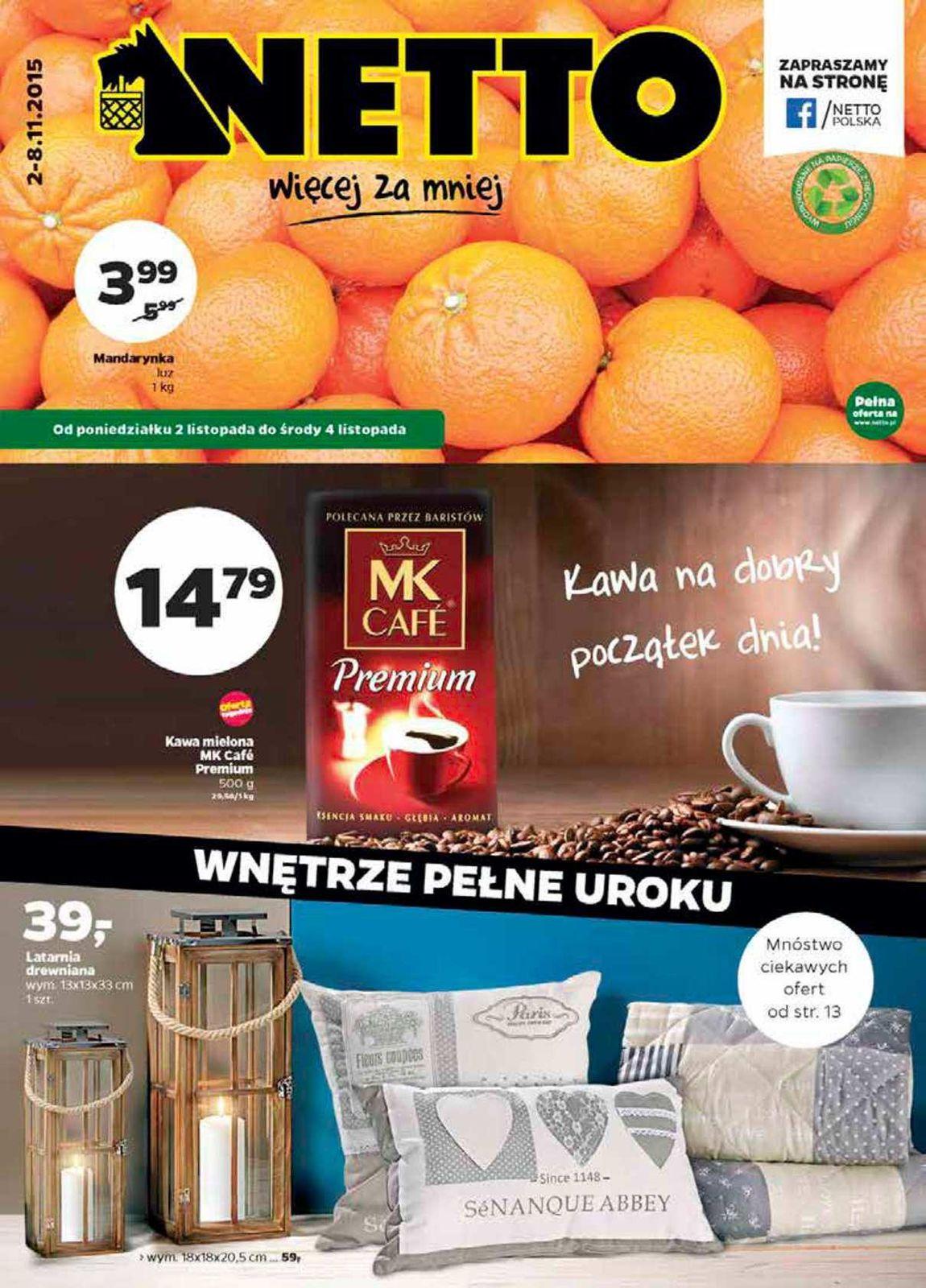 Gazetka promocyjna Netto do 08/11/2015 str.0