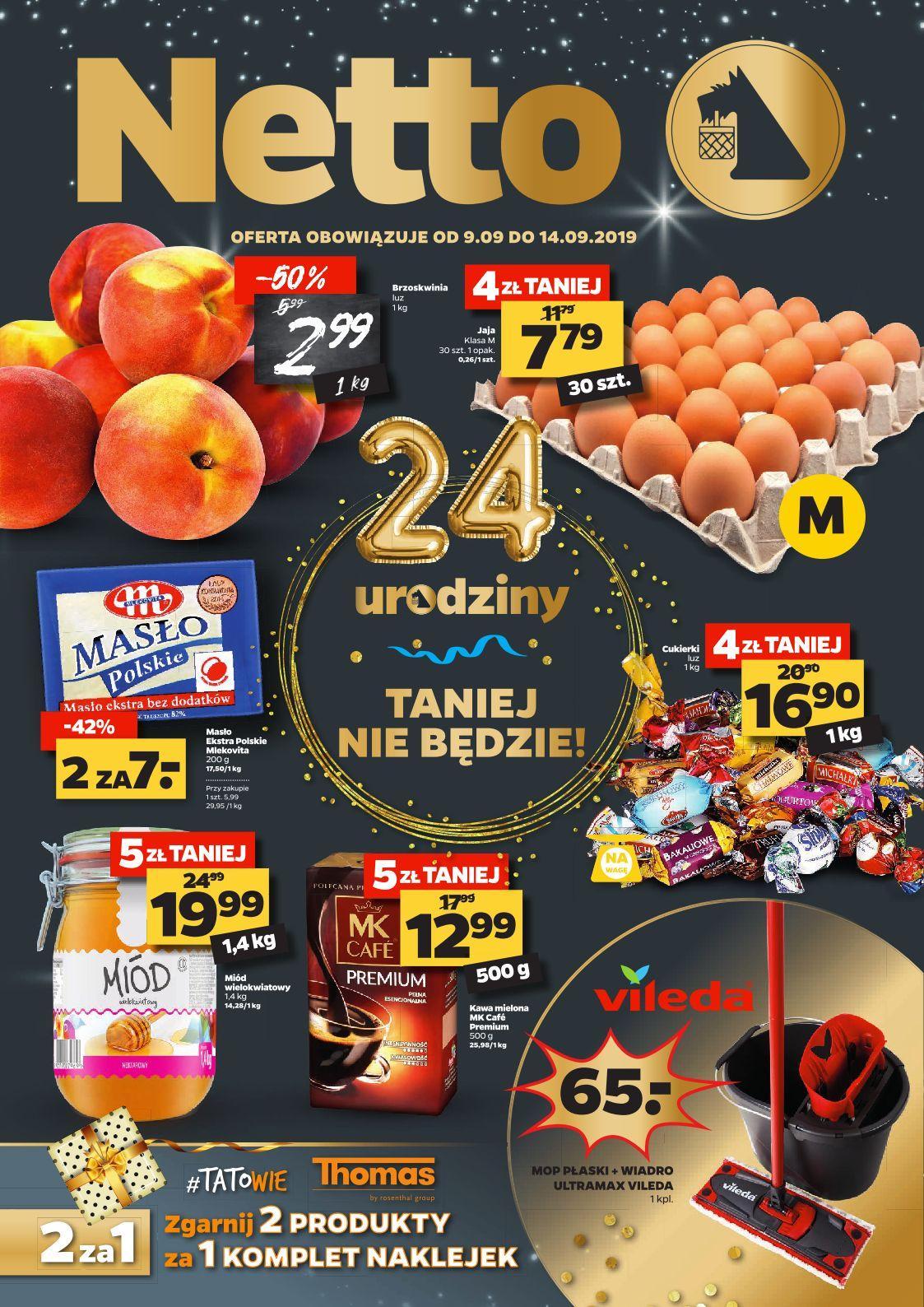 Gazetka promocyjna Netto do 14/09/2019 str.0