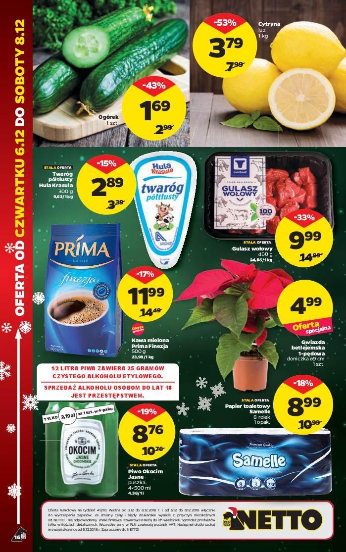 Gazetka promocyjna Netto do 08/12/2018 str.16