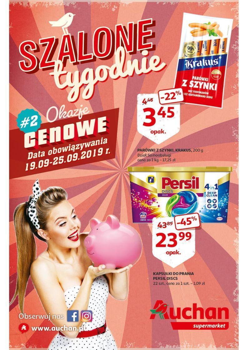 Gazetka promocyjna Auchan do 25/09/2019 str.1