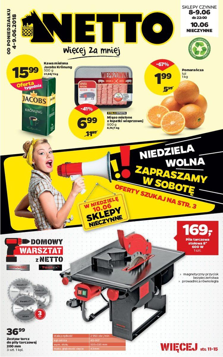 Gazetka promocyjna Netto do 09/06/2018 str.0