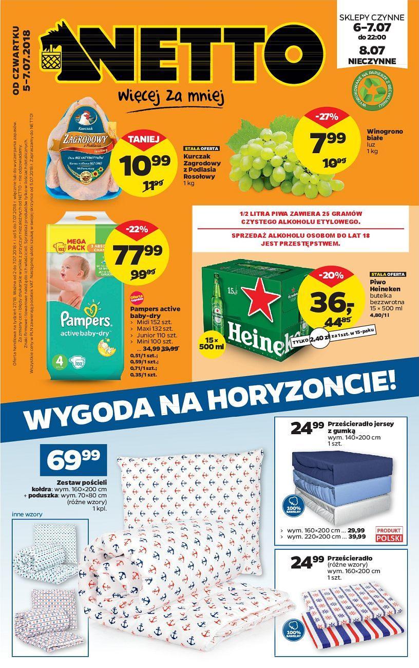 Gazetka promocyjna Netto do 07/07/2018 str.1