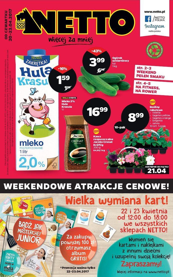 Gazetka promocyjna Netto do 23/04/2017 str.0