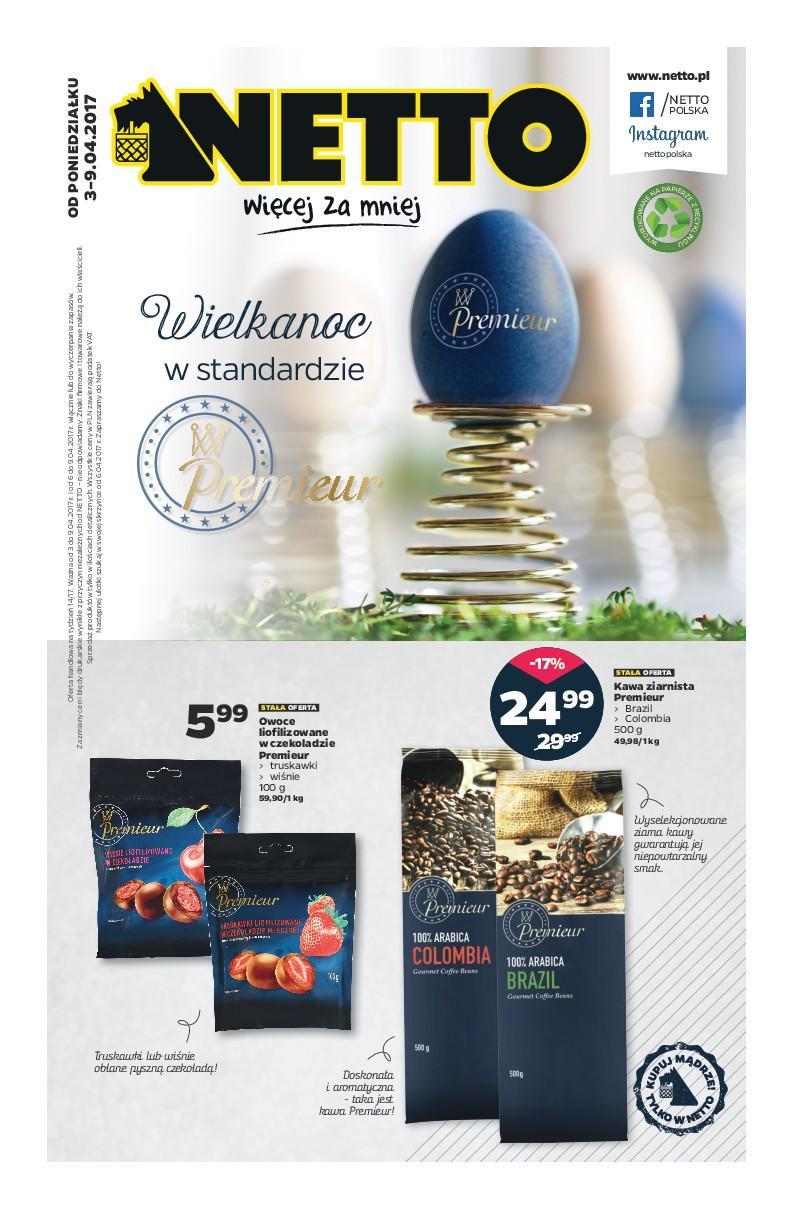 Gazetka promocyjna Netto do 09/04/2017 str.0