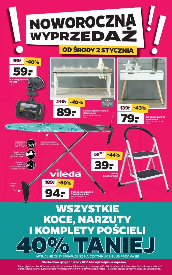Gazetka promocyjna Netto do 05/01/2019 str.0