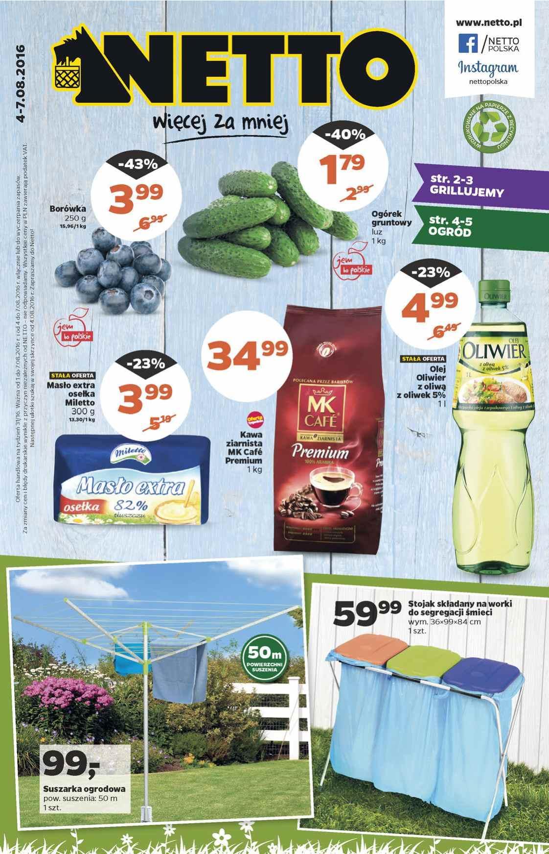Gazetka promocyjna Netto do 07/08/2016 str.0