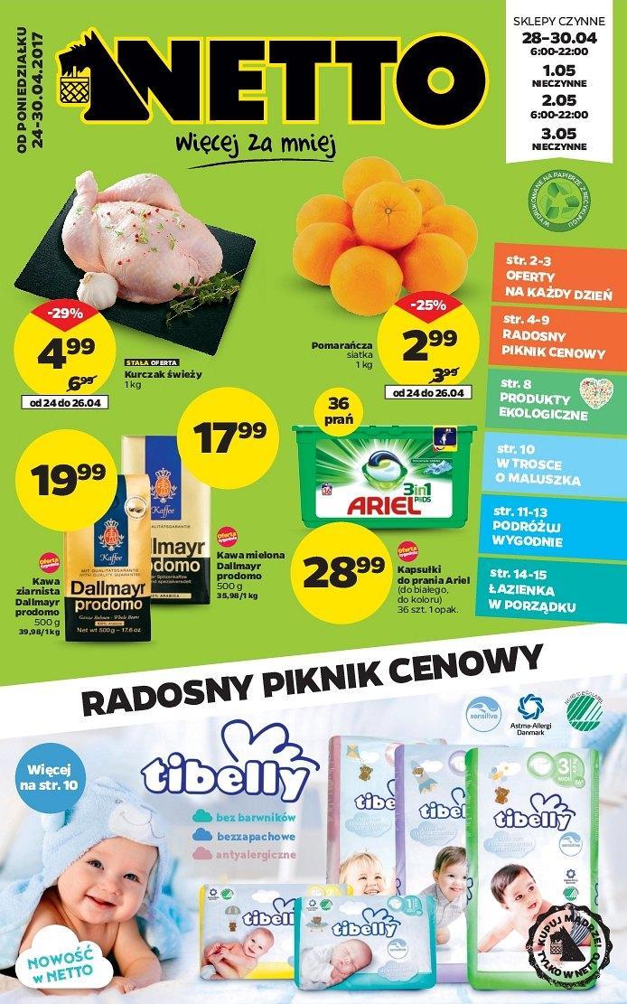Gazetka promocyjna Netto do 30/04/2017 str.0