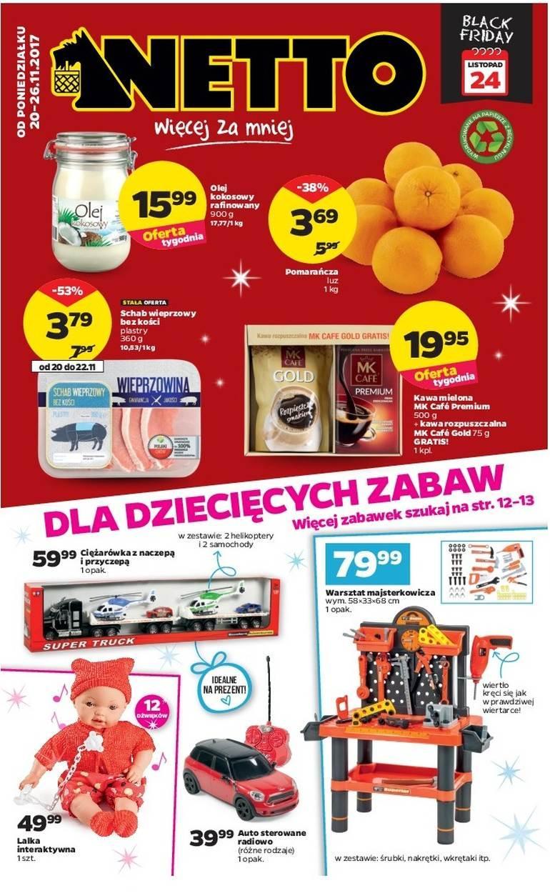 Gazetka promocyjna Netto do 26/11/2017 str.0