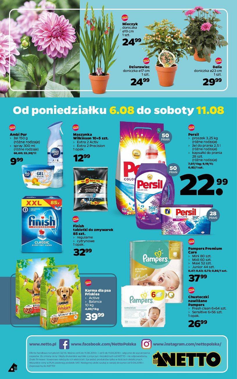 Gazetka promocyjna Netto do 11/08/2018 str.8