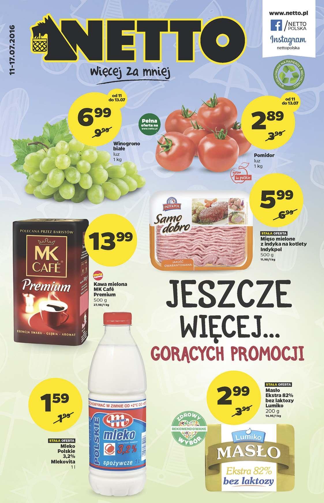 Gazetka promocyjna Netto do 17/07/2016 str.0