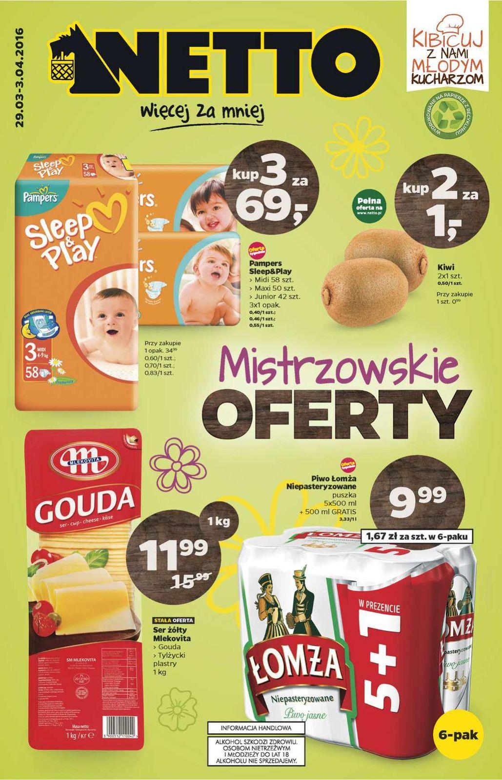 Gazetka promocyjna Netto do 03/04/2016 str.0