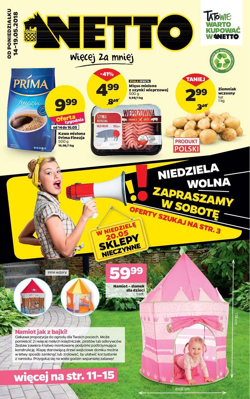 Gazetka promocyjna Netto do 19/05/2018 str.0
