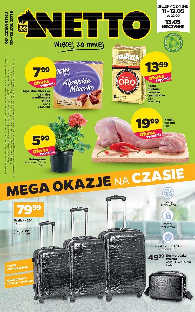Gazetka promocyjna Netto do 12/05/2018 str.0