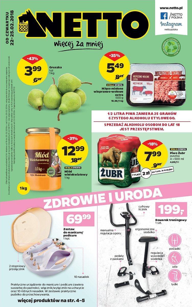 Gazetka promocyjna Netto do 25/02/2018 str.0