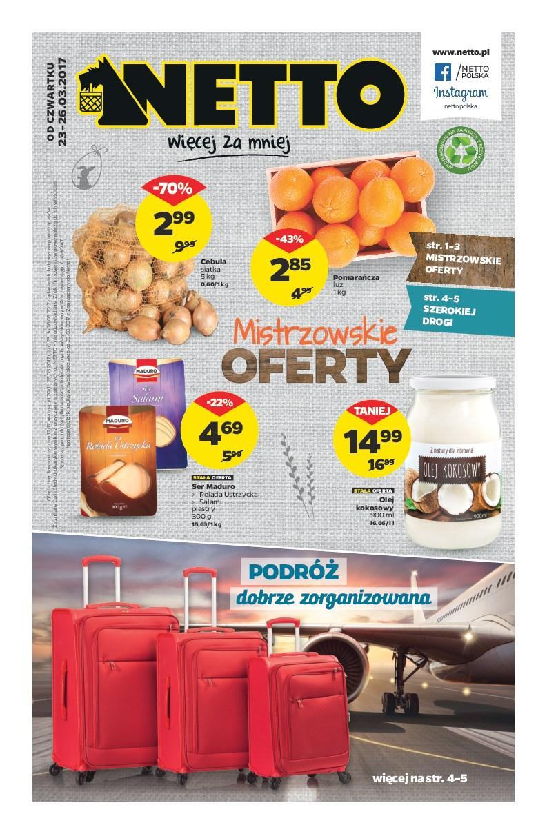 Gazetka promocyjna Netto do 26/03/2017 str.0