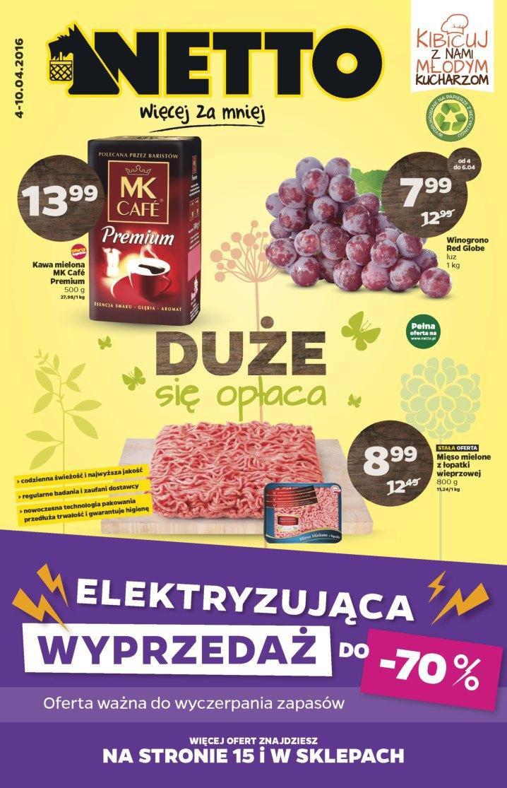 Gazetka promocyjna Netto do 10/04/2016 str.0