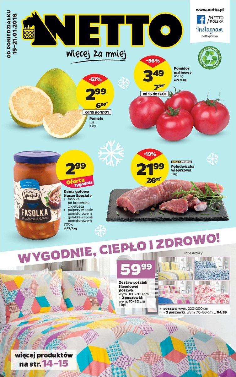 Gazetka promocyjna Netto do 21/01/2018 str.0