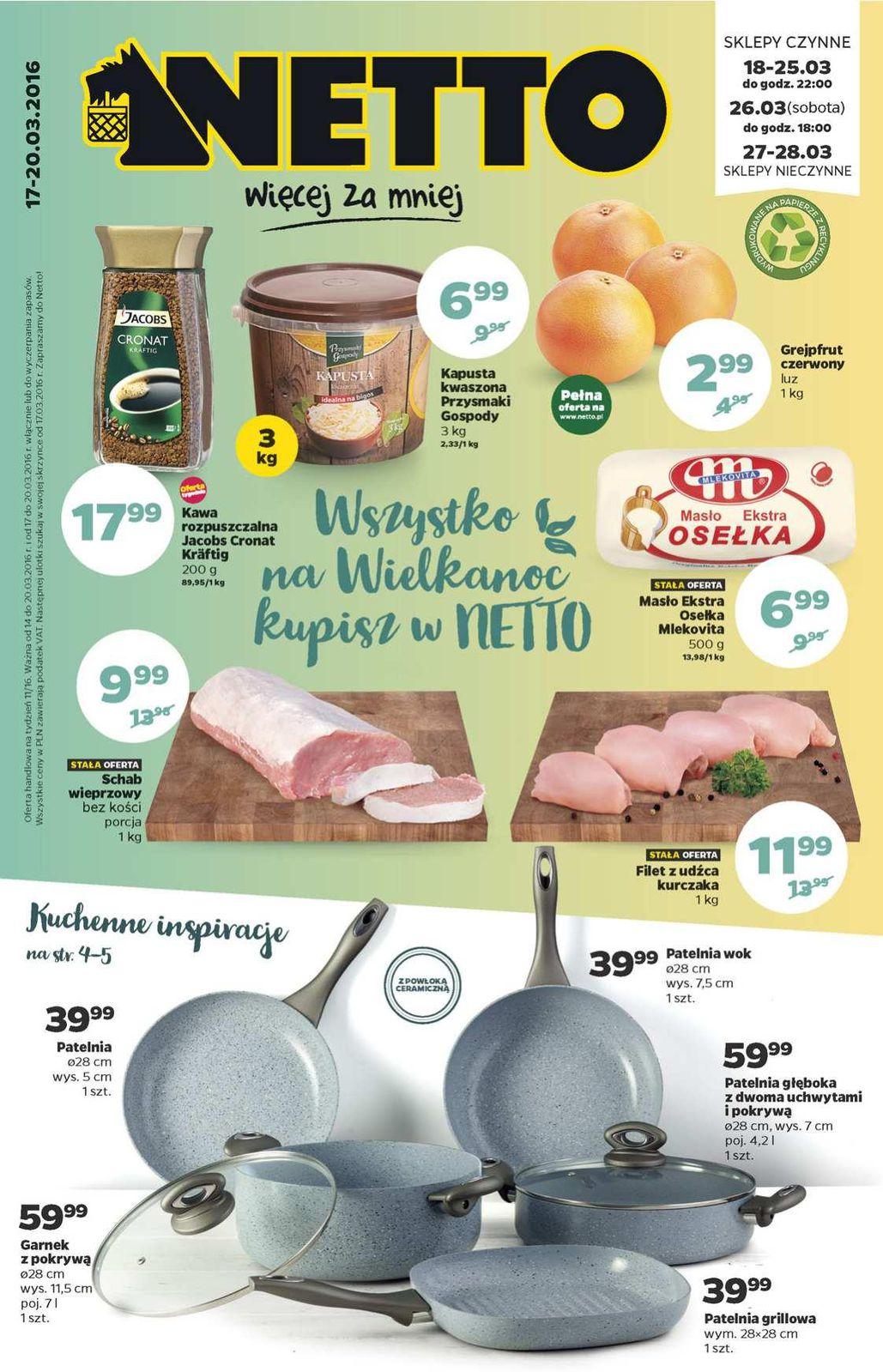Gazetka promocyjna Netto do 20/03/2016 str.0