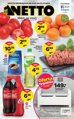 Netto gazetka - od 21/01/2019 do 27/01/2019