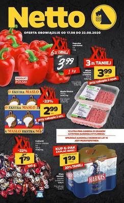 Netto gazetka - od 17/08/2020 do 22/08/2020