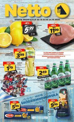 Netto gazetka - od 19/10/2020 do 25/10/2020