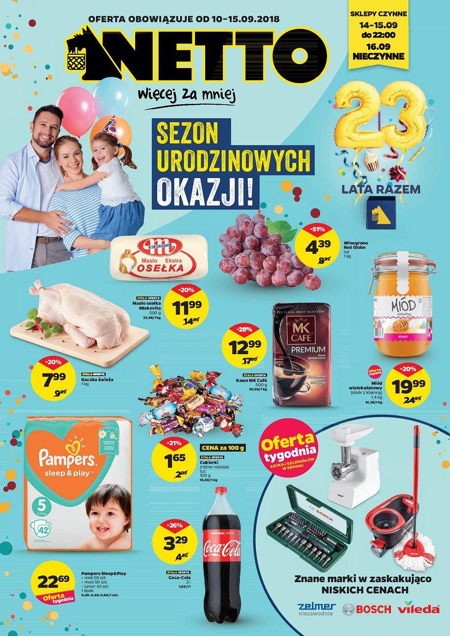 Gazetka promocyjna Netto do 15/09/2018 str.0