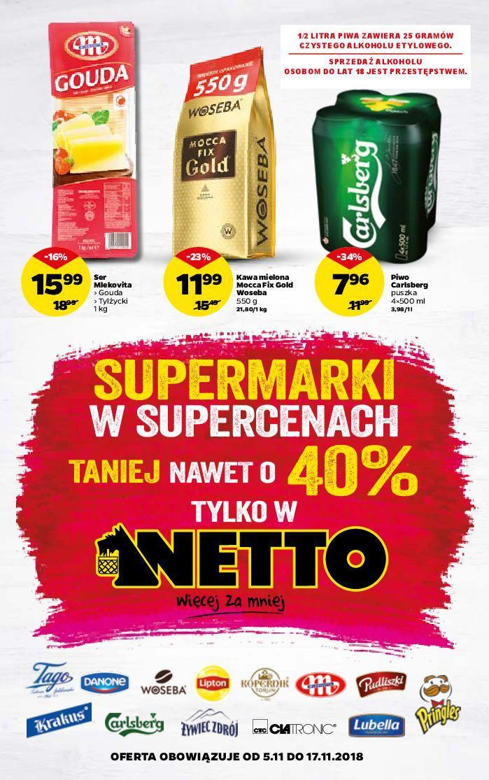 Gazetka promocyjna Netto do 17/11/2018 str.1